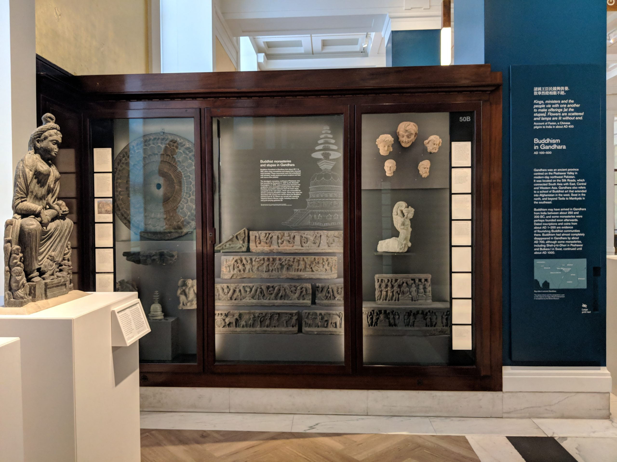 How To Recreate A Gandhara Stupa At The British Museum The Wonder House
